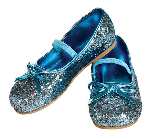 GLITTER SHOES BLUE - SIZE S