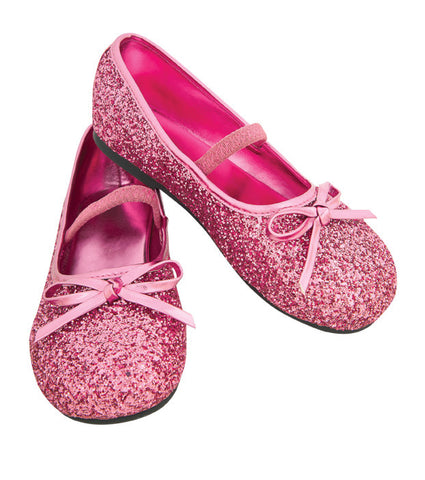 GLITTER SHOES PINK - SIZE M