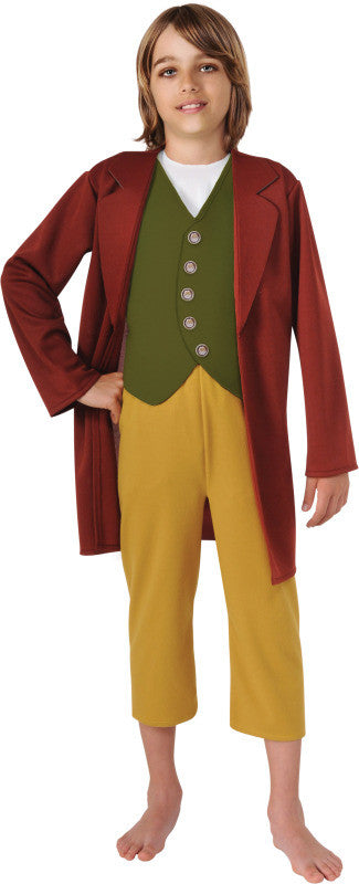 BILBO BAGGINS HOBBIT COSTUME, CHILD - SIZE S