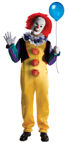 PENNYWISE 60'S COSTUME, ADULT  - SIZE STD