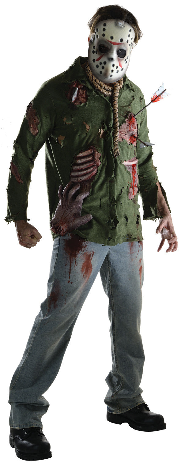 JASON DELUXE COSTUME, ADULT - SIZE XL