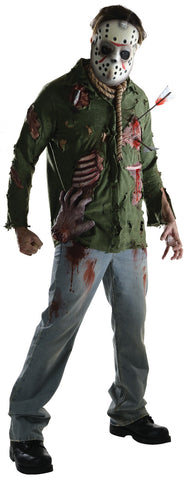 JASON DELUXE COSTUME, ADULT - SIZE L