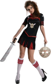 JASON CHEERLEADER SECRET WISHES CORSET COSTUME - M