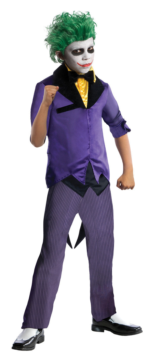 THE JOKER DELUXE COSTUME, CHILD - SIZE M