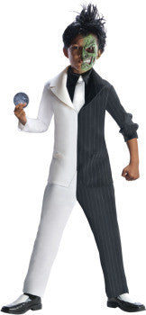 TWO FACE COSTUME, CHILD - SIZE M