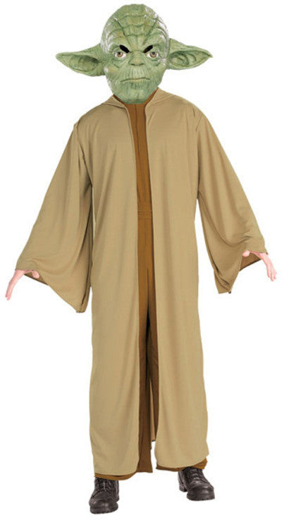 YODA DELUXE COSTUME, ADULT - SIZE STD