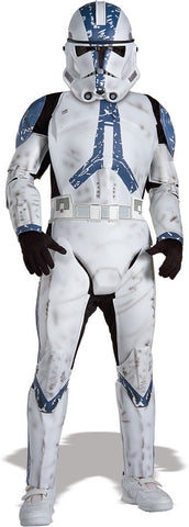 CLONE TROOPER DELUXE JUMPSUIT, CHILD - SIZE S
