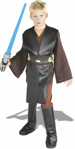ANAKIN SKYWALKER DELUXE COSTUME, CHILD - SIZE S