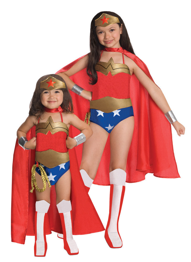 WONDER WOMAN DELUXE COSTUME CHILD - SIZE M
