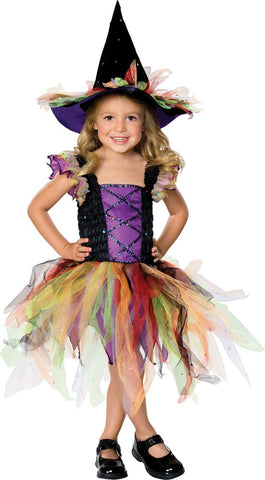 GLITTER WITCH COSTUME - SIZE S