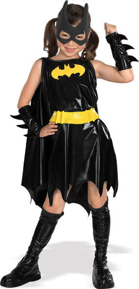 BATGIRL SUPERHERO COSTUME, CHILD - SIZE S