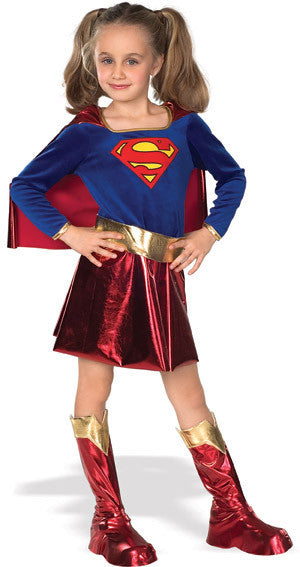 SUPERGIRL DELUXE CHILD - SIZE S