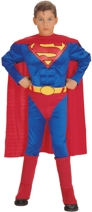SUPERMAN MUSCLE CHEST CHILD - SIZE M