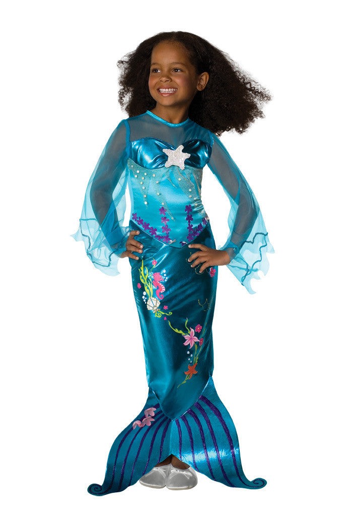 BLUE MAGICAL MERMAID - SIZE S