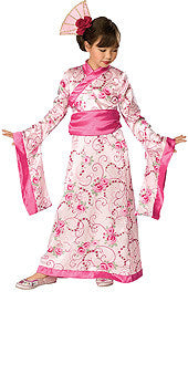 ASIAN PRINCESS COSTUME, CHILD - SIZE L