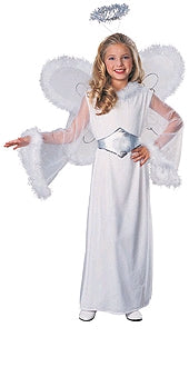 CLASSIC ANGEL COSTUME, CHILD - SIZE S