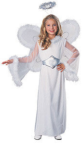 CLASSIC ANGEL COSTUME, CHILD - SIZE M