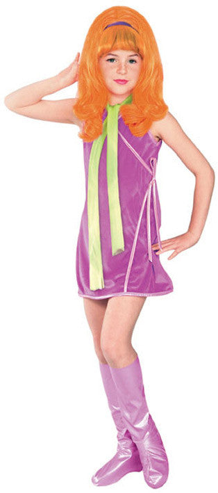 DAPHNE DELUXE COSTUME, CHILD  - SIZE L