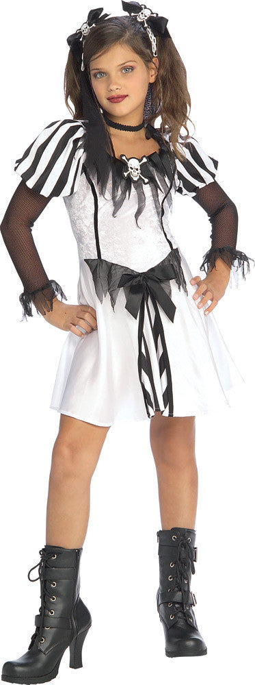 PUNKY PIRATE COSTUME, CHILD  - SIZE S