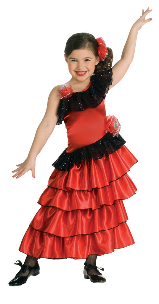 SPANISH PRINCESS COSTUME CHILD - SIZE S