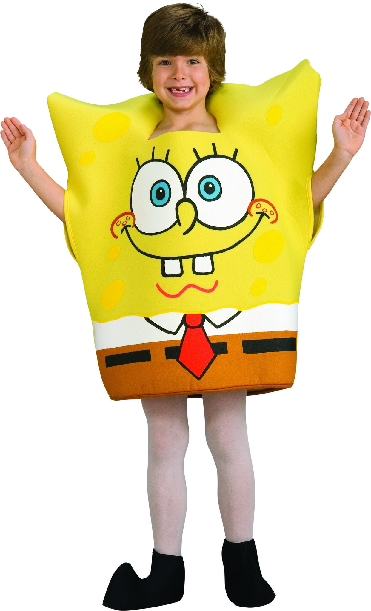 SPONGEBOB SQUAREPANTS FOAM COSTUME, CHILD - SIZE M