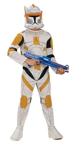 CLONE TROOPER COMMANDER CODY CHILD - SIZE S