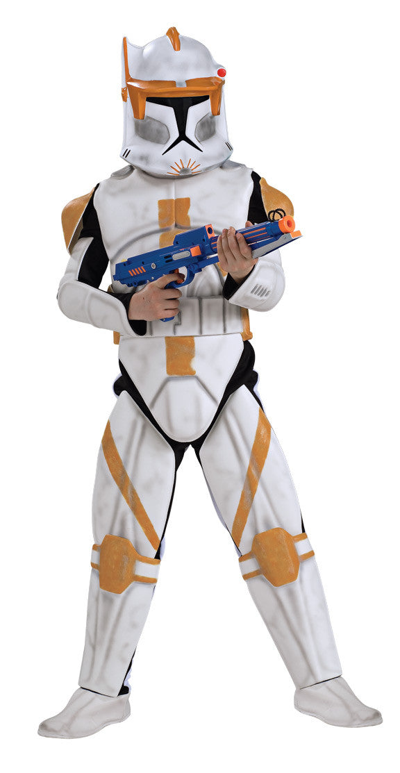 COMMANDER CODY STAR WARS COSTUME, CHILD - SIZE S