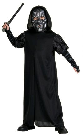 DEATH EATER CLASSIC COSTUME, CHILD - SIZE L