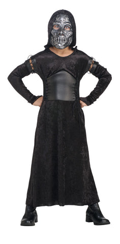 BELLATRIX HARRY POTTER COSTUME, CHILD - SIZE M