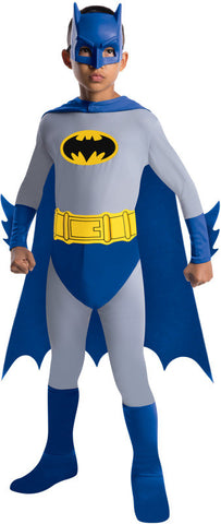 BATMAN BRAVE & BOLD COSTUME, CHILD - SIZE M