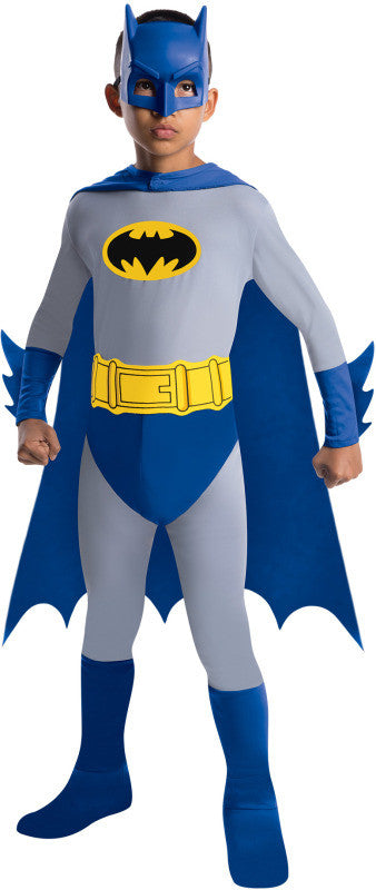 BATMAN BRAVE & BOLD COSTUME, CHILD - SIZE S