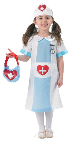 NURSE PREMIUM COSTUME, CHILD - SIZE S