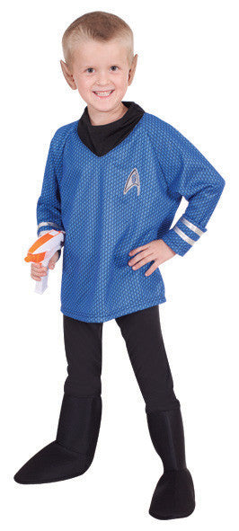 DR SPOCK STAR TREK COSTUME, CHILD - SIZE M