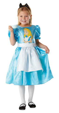 ALICE IN WONDERLAND DISNEY COSTUME, CHILD - SIZE S