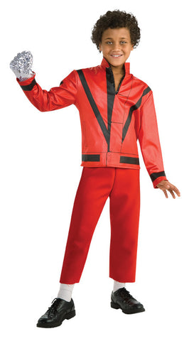 MICHAEL JACKSON THRILLER JACKET, CHILD - SIZE M