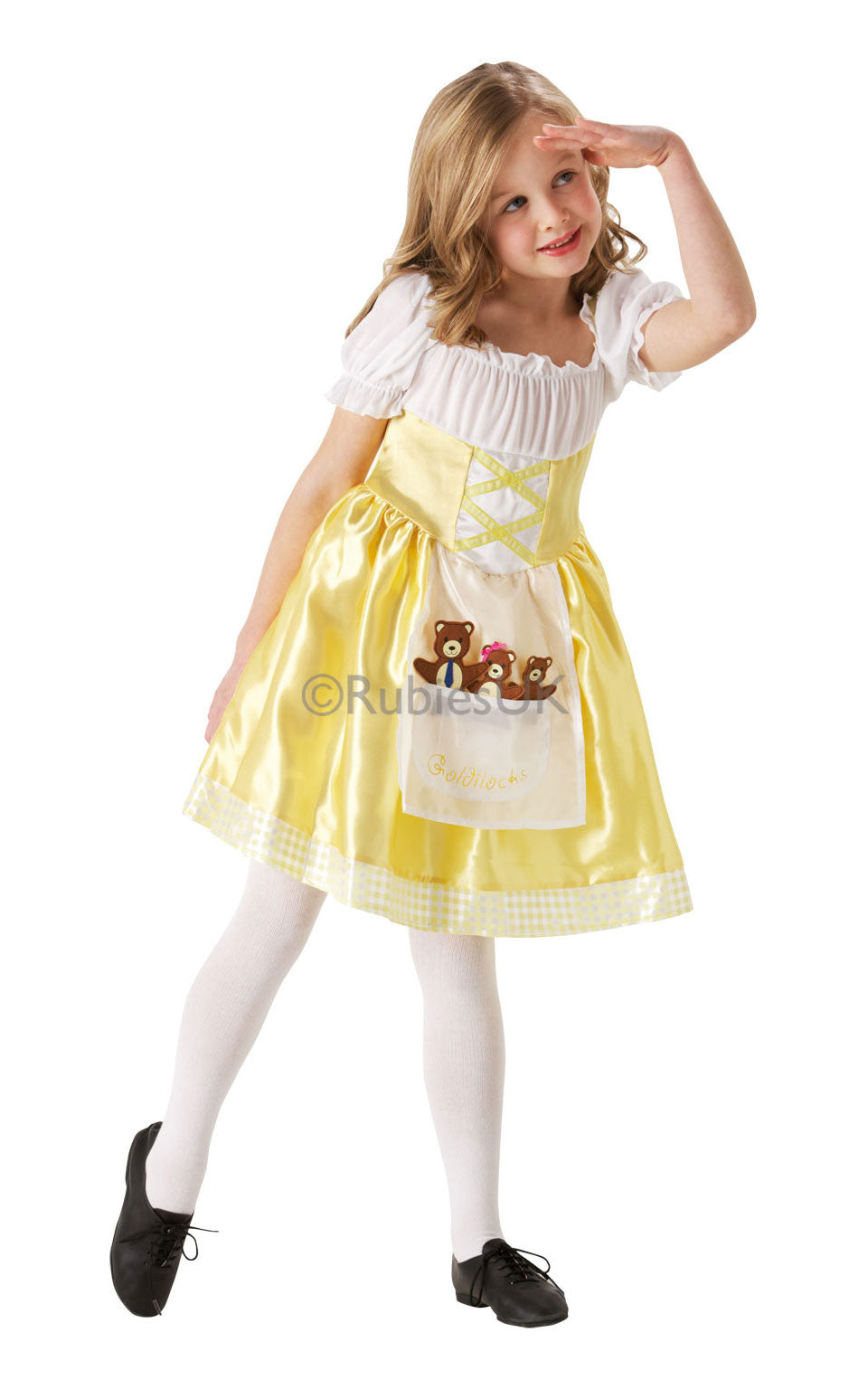 GOLDILOCKS DELUXE COSTUME, CHILD - SIZE TODDLER