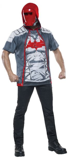 RED HOOD COSTUME TOP, ADULT - SIZE L