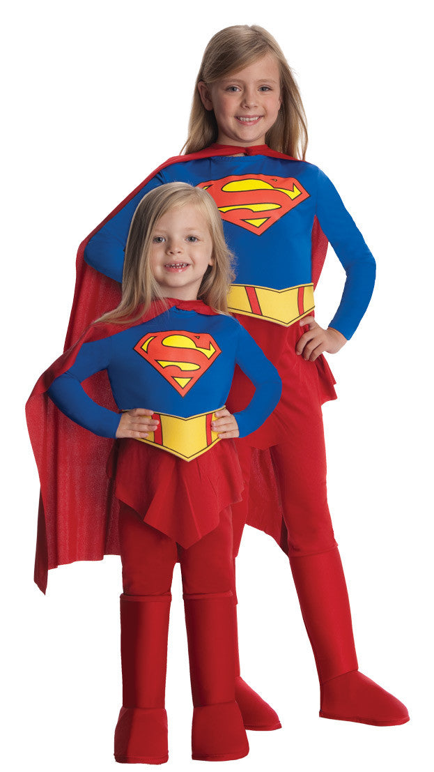 SUPERGIRL CHILD - SIZE TODDLER