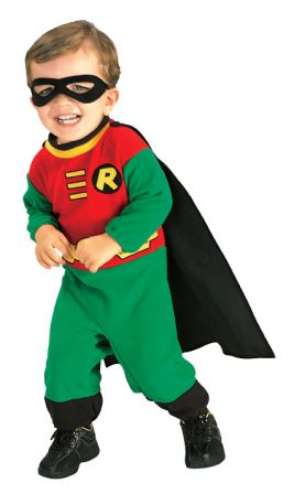 ROBIN TEEN TITANS - SIZE TODDLER
