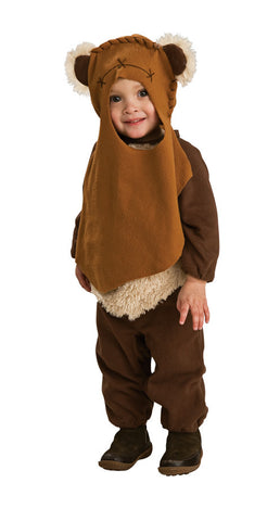 WICKET THE EWOK STAR WARS COSTUME, CHILD - SIZE TODDLER