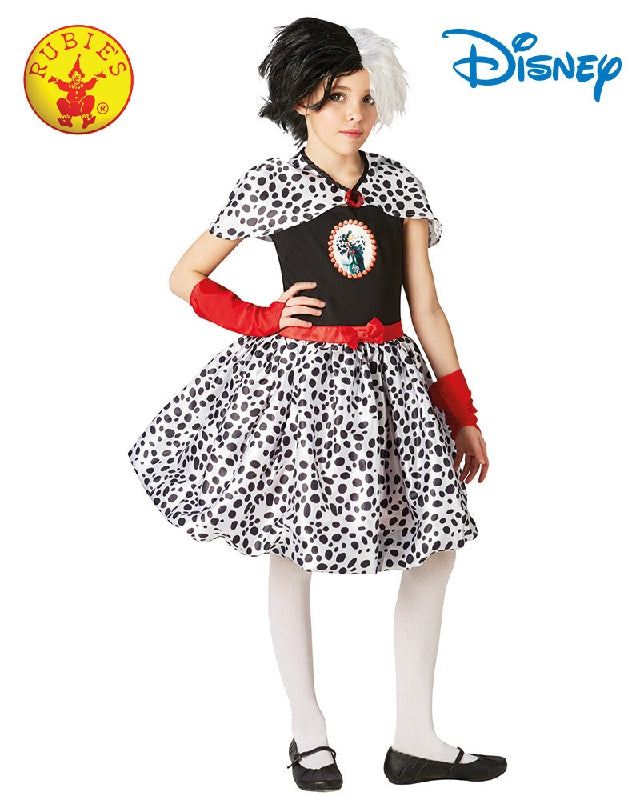 CRUELLA DE VILLE, CHILD - SIZE L