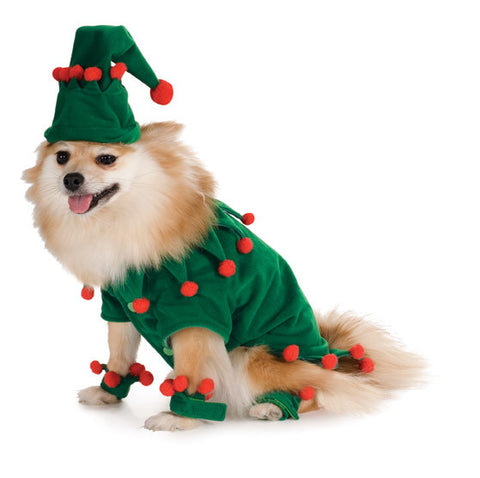 ELF PET COSTUME - SIZE XL