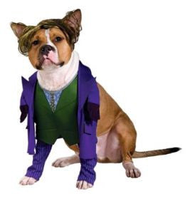 THE JOKER PET COSTUME - SIZE L
