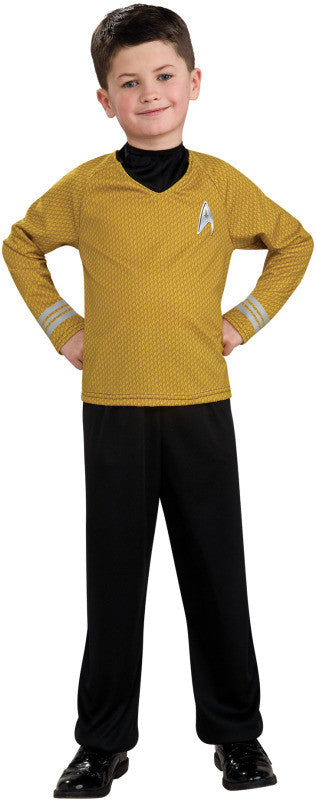 STAR TREK GOLD SHIRT - SIZE M