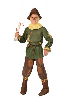 SCARECROW GREEN COSTUME, CHILD - SIZE L
