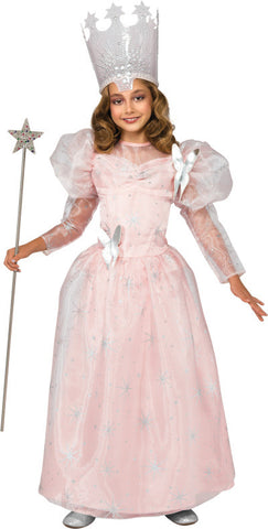 GLINDA THE GOOD WITCH DELUXE COSTUME, CHILD - SIZE S