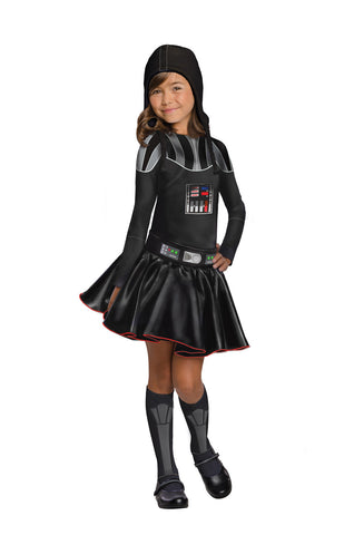 DARTH VADER GIRL COSTUME - SIZE M