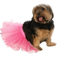 PINK PET TUTU DRESS - SIZE S-M