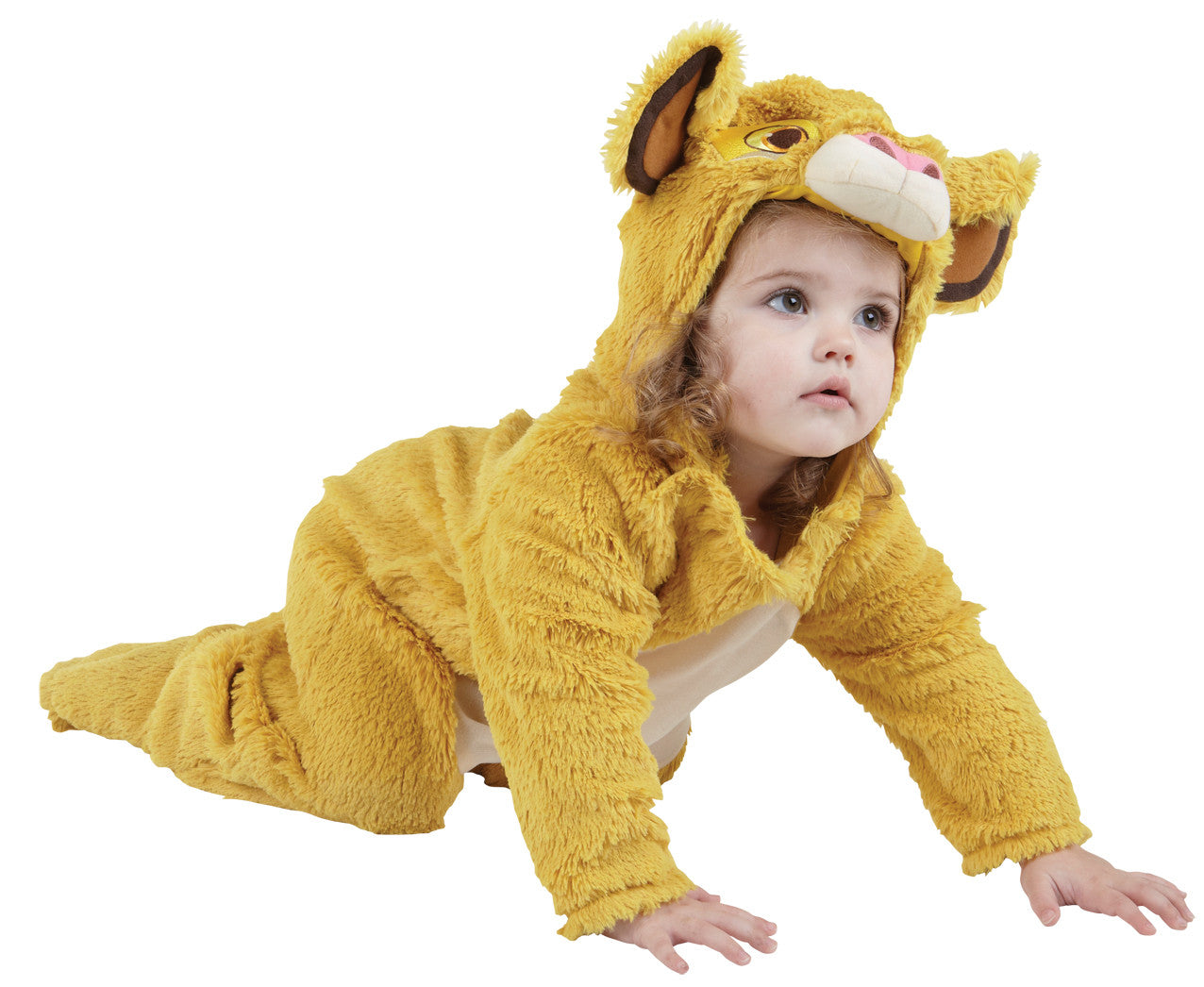 SIMBA FURRY COSTUME - SIZE TODDLER