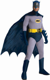 BATMAN 1966 COLLECTABLE COSTUME, ADULT - SIZE STD